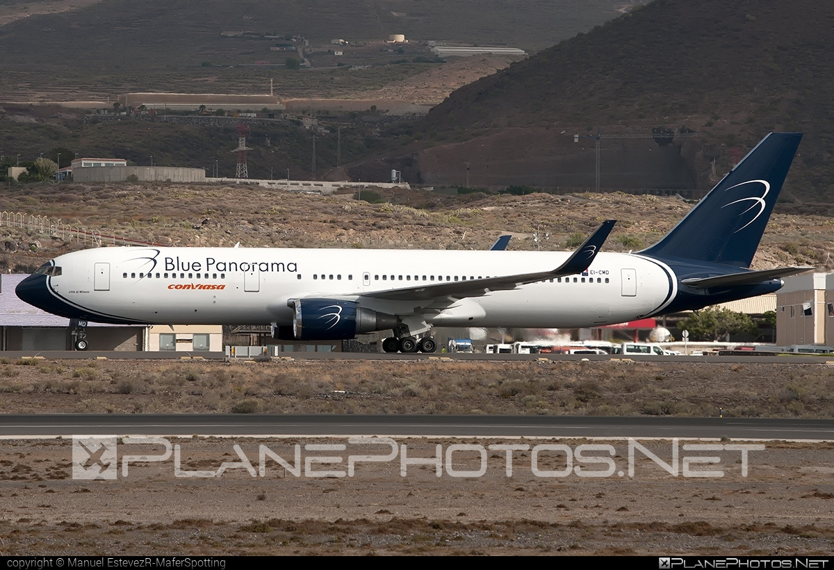Boeing 767-300ER - EI-CMD operated by Blue Panorama Airlines #b767 #b767er #boeing #boeing767