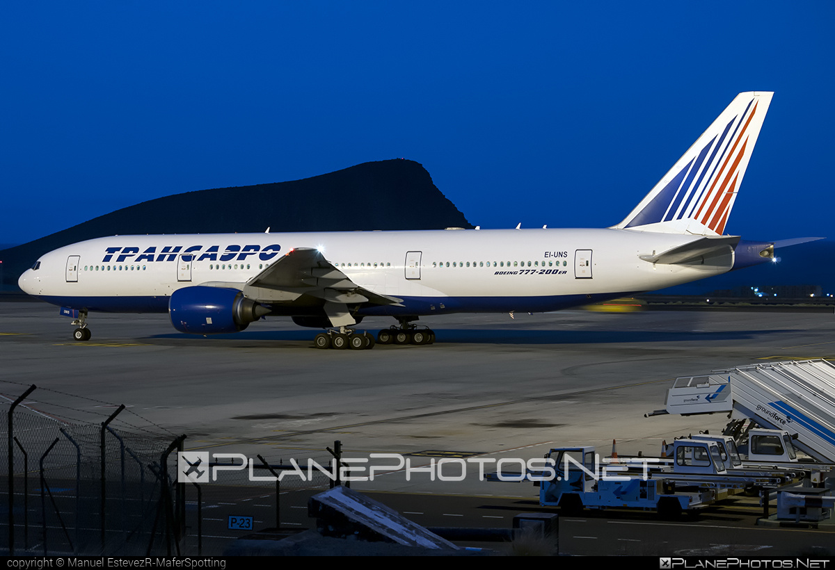 Boeing 777-200ER - EI-UNS operated by Transaero Airlines #b777 #b777er #boeing #boeing777 #tripleseven