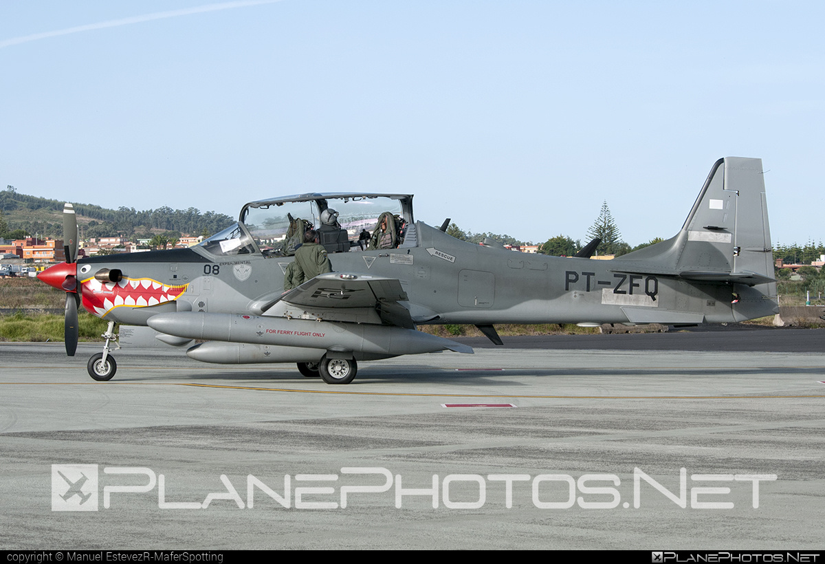 Embraer A-29B Super Tucano - PT-ZFQ operated by Embraer #embraer #supertucano