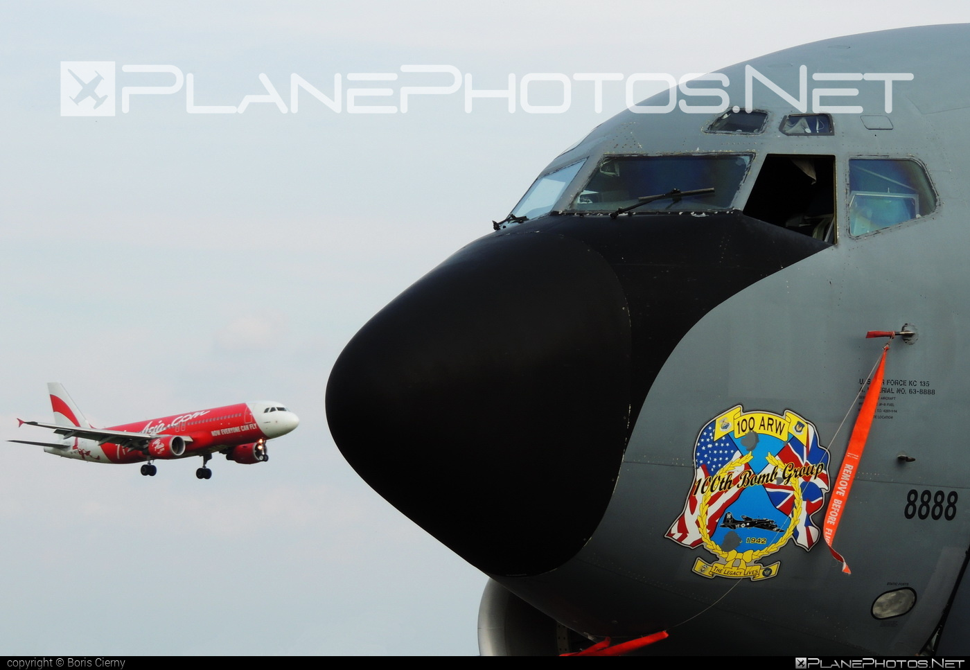Boeing KC-135R Stratotanker - 63-8888 operated by US Air Force (USAF) #boeing #natodays #natodays2014 #usaf #usairforce