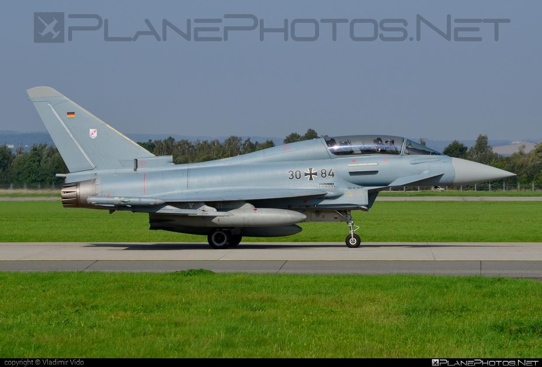 Eurofighter Typhoon T - 30+84 operated by Luftwaffe (German Air Force) #GermanAirForce #eurofighter #luftwaffe #natodays #natodays2014 #typhoon