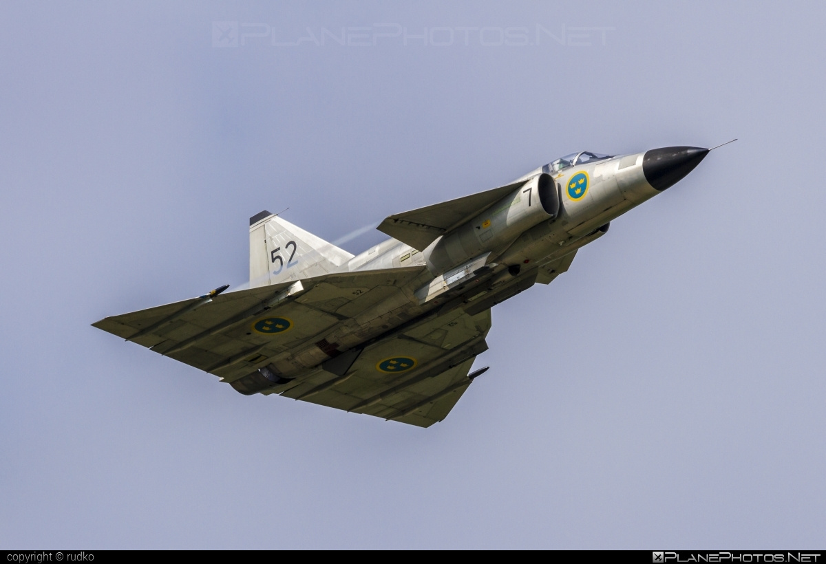 Saab AJSF 37 Viggen - SE-DXN operated by Swedish Air Force Historic Flight #ajsf37 #ajsf37viggen #natodays #natodays2014 #saab #saab37 #saabajsf37 #saabajsf37viggen #saabviggen #viggen