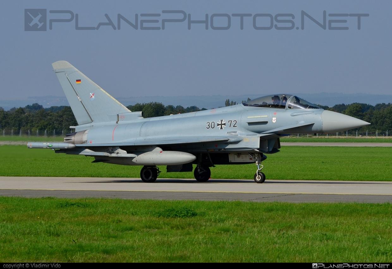 Eurofighter Typhoon S - 30+72 operated by Luftwaffe (German Air Force) #GermanAirForce #eurofighter #luftwaffe #natodays #natodays2014 #typhoon