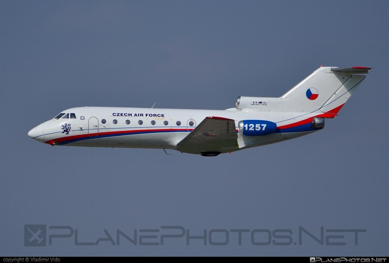 Yakovlev Yak-40K - 1257 operated by Vzdušné síly AČR (Czech Air Force) #czechairforce #natodays #natodays2014 #vzdusnesilyacr #yak #yak40 #yak40k #yakovlev