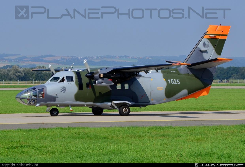 Let L-410FG Turbolet - 1525 operated by Vzdušné síly AČR (Czech Air Force) #czechairforce #let #natodays #natodays2014 #vzdusnesilyacr