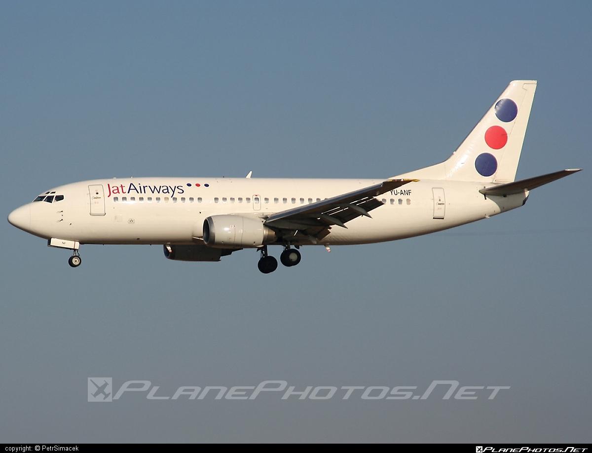 Boeing 737-300 - YU-ANF operated by Jat Airways #b737 #boeing #boeing737