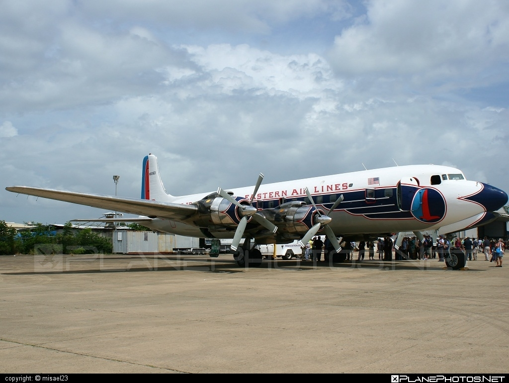 Douglas DC-7B - N836D operated by Historical Flight Foundation #douglas