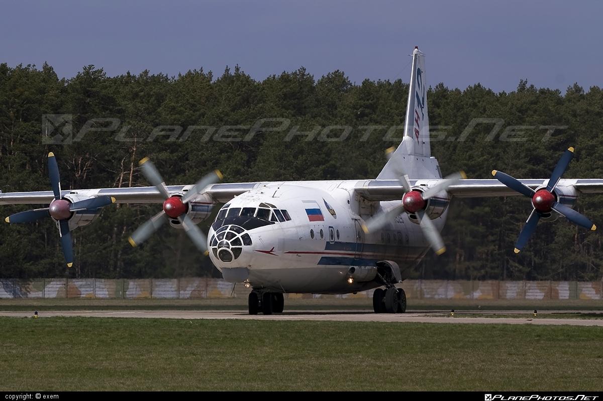 Antonov An-12 - 11529 operated by RSK MiG #an12 #antonov #antonov12