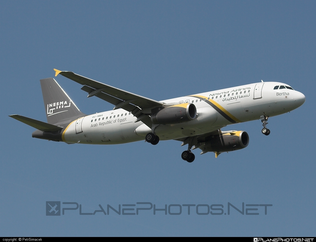 Airbus A320-232 - SU-NMA operated by Nesma Airlines #a320 #a320family #airbus #airbus320