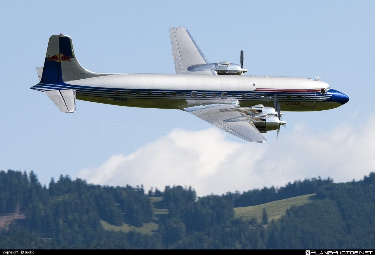 Douglas DC-6B - N996DM operated by The Flying Bulls #douglas #theflyingbulls