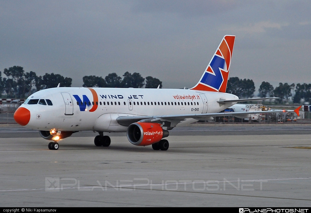 Airbus A319-113 - EI-DVD operated by Wind Jet #a319 #a320family #airbus #airbus319