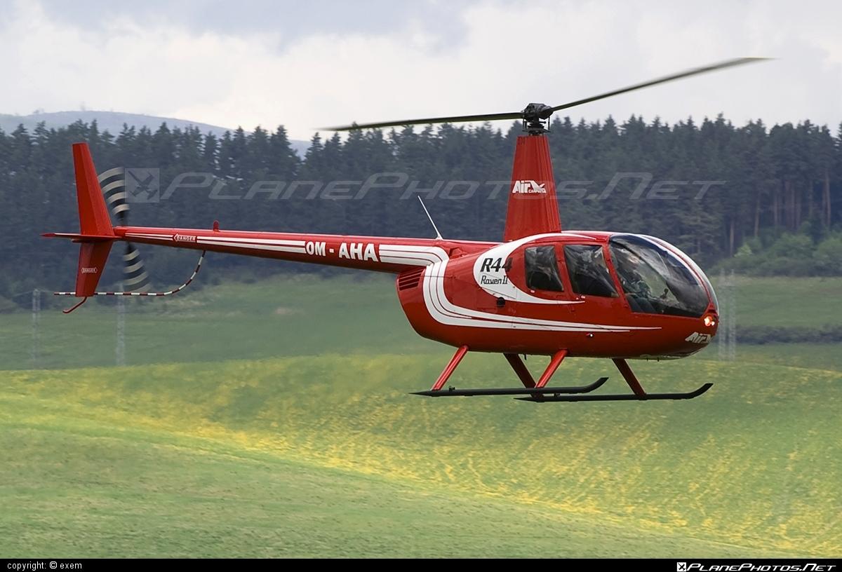 Robinson R44 Raven II - OM-AHA operated by Air Carpatia #robinson
