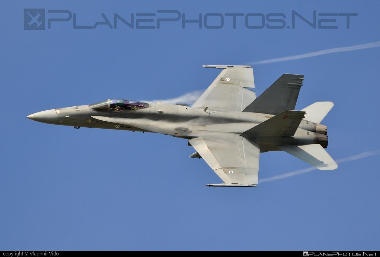 McDonnell Douglas F-18C Hornet - HN-448 operated by Ilmavoimat (Finnish Air Force) #f18 #f18c #f18hornet #finnishairforce #ilmavoimat #mcdonnelldouglas #natodays #natodays2014