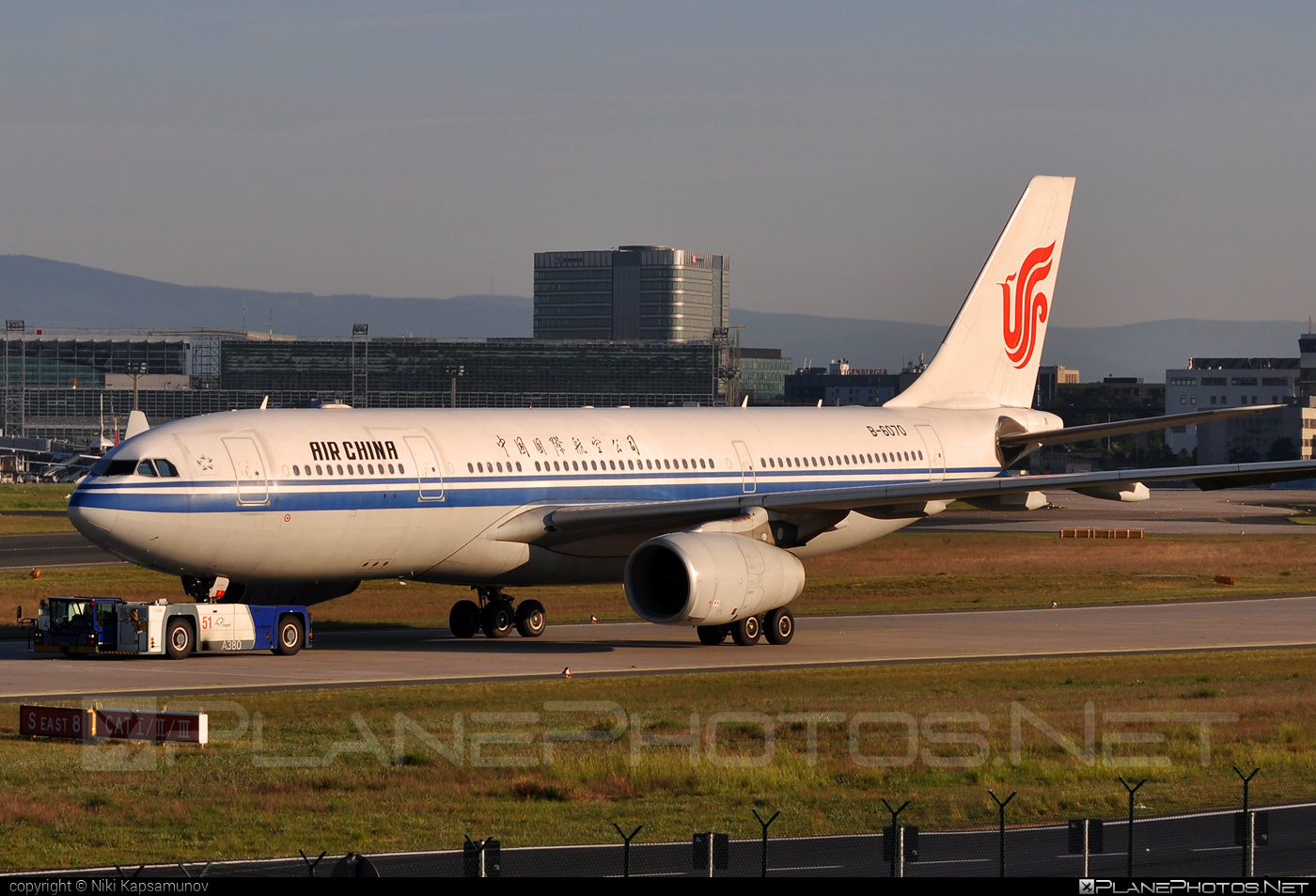 Airbus A330-243 - B-6070 operated by Air China #a330 #a330family #airbus #airbus330 #airchina