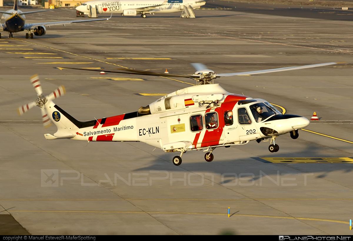 AgustaWestland AW139 - EC-KLN operated by Sociedad de Salvamento y Seguridad Marítima (Spanish Maritime Safety Agency) #agustawestland