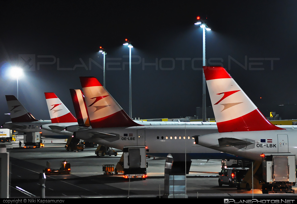 Airbus A321-211 - OE-LBE operated by Austrian Airlines #a320family #a321 #airbus #airbus321