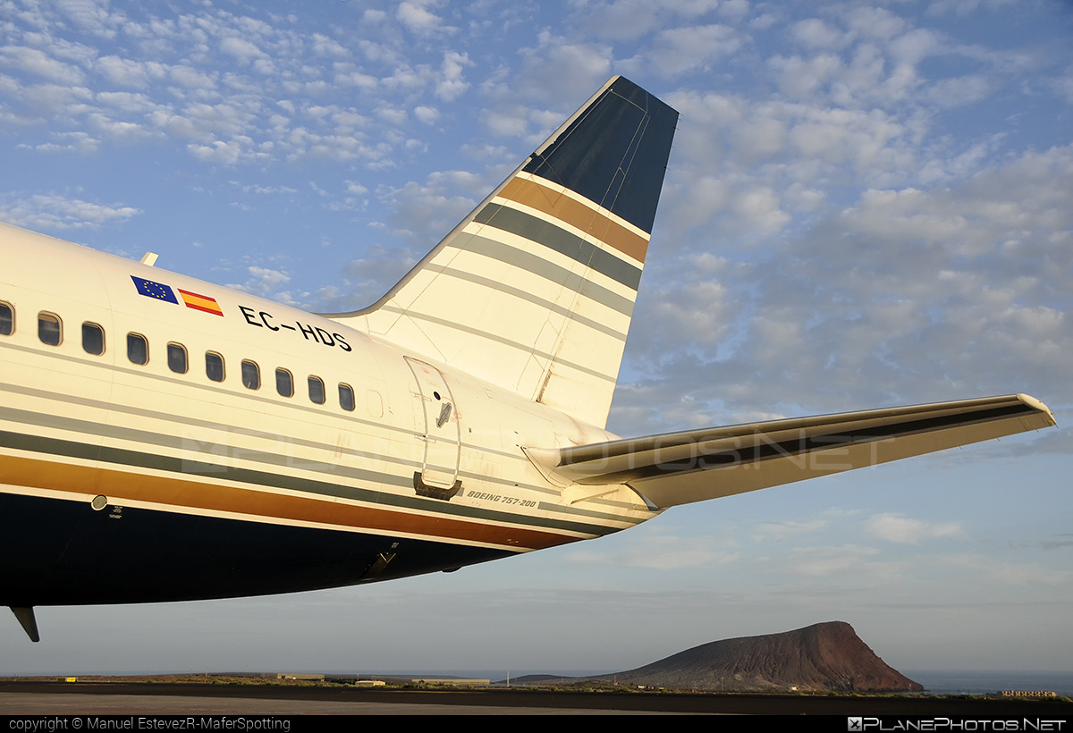 Privilege Style Boeing 757-200 - EC-HDS #b757 #boeing #boeing757