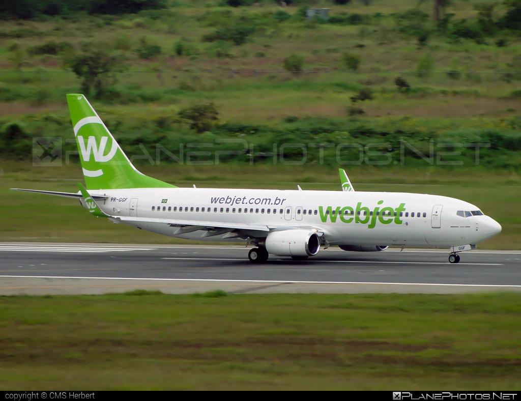 Boeing 737-800 - PR-GGF operated by WebJet Linhas Aéreas #b737 #b737nextgen #b737ng #boeing #boeing737