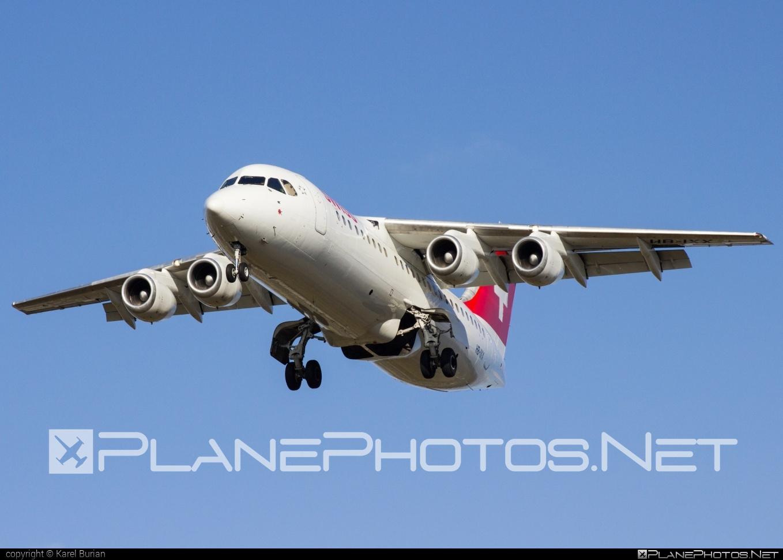 British Aerospace Avro RJ100 - HB-IXX operated by Swiss European Air Lines #avro146rj100 #avrorj100 #bae146 #britishaerospace