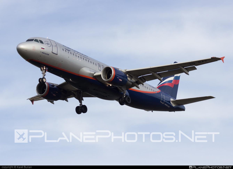Airbus A320-214 - VQ-BAX operated by Aeroflot #a320 #a320family #aeroflot #airbus #airbus320