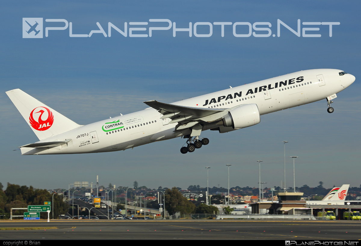 Boeing 777-200ER - JA707J operated by Japan Airlines (JAL) #b777 #b777er #boeing #boeing777 #tripleseven