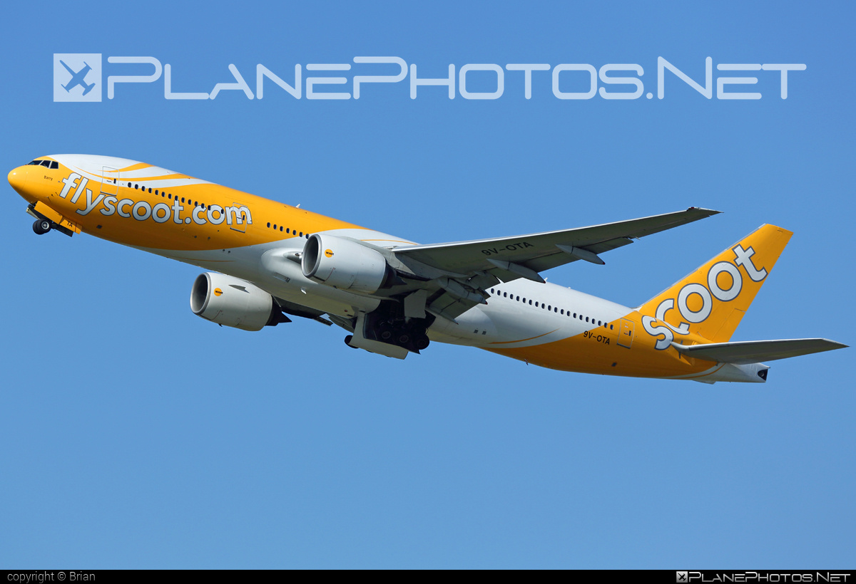 Boeing 777-200ER - 9V-OTA operated by Scoot #b777 #b777er #boeing #boeing777 #tripleseven