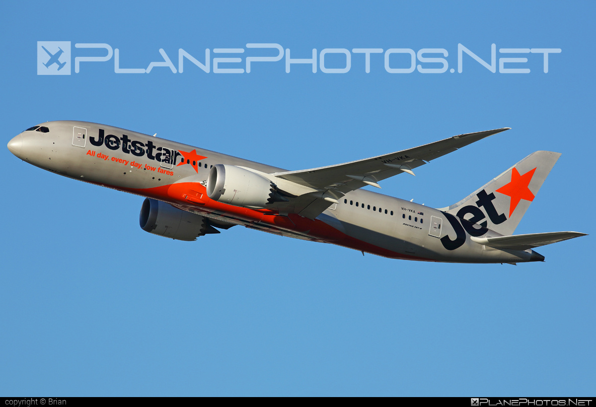 Boeing 787-8 Dreamliner - VH-VKA operated by Jetstar Airways #JetstarAirways #b787 #boeing #boeing787 #dreamliner