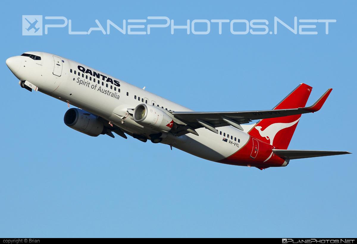 Boeing 737-800 - VH-VYL operated by Qantas #b737 #b737nextgen #b737ng #boeing #boeing737 #qantas