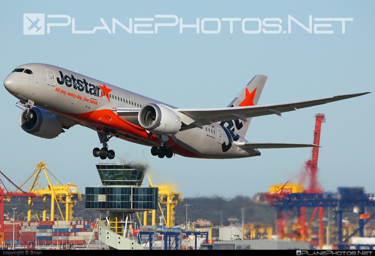 Boeing 787-8 Dreamliner - VH-VKD operated by Jetstar Airways #b787 #boeing #boeing787 #dreamliner