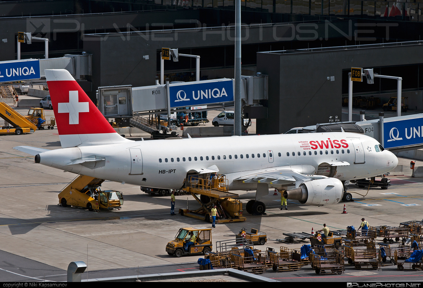Airbus A319-112 - HB-IPT operated by Swiss International Air Lines #a319 #a320family #airbus #airbus319 #swiss #swissairlines