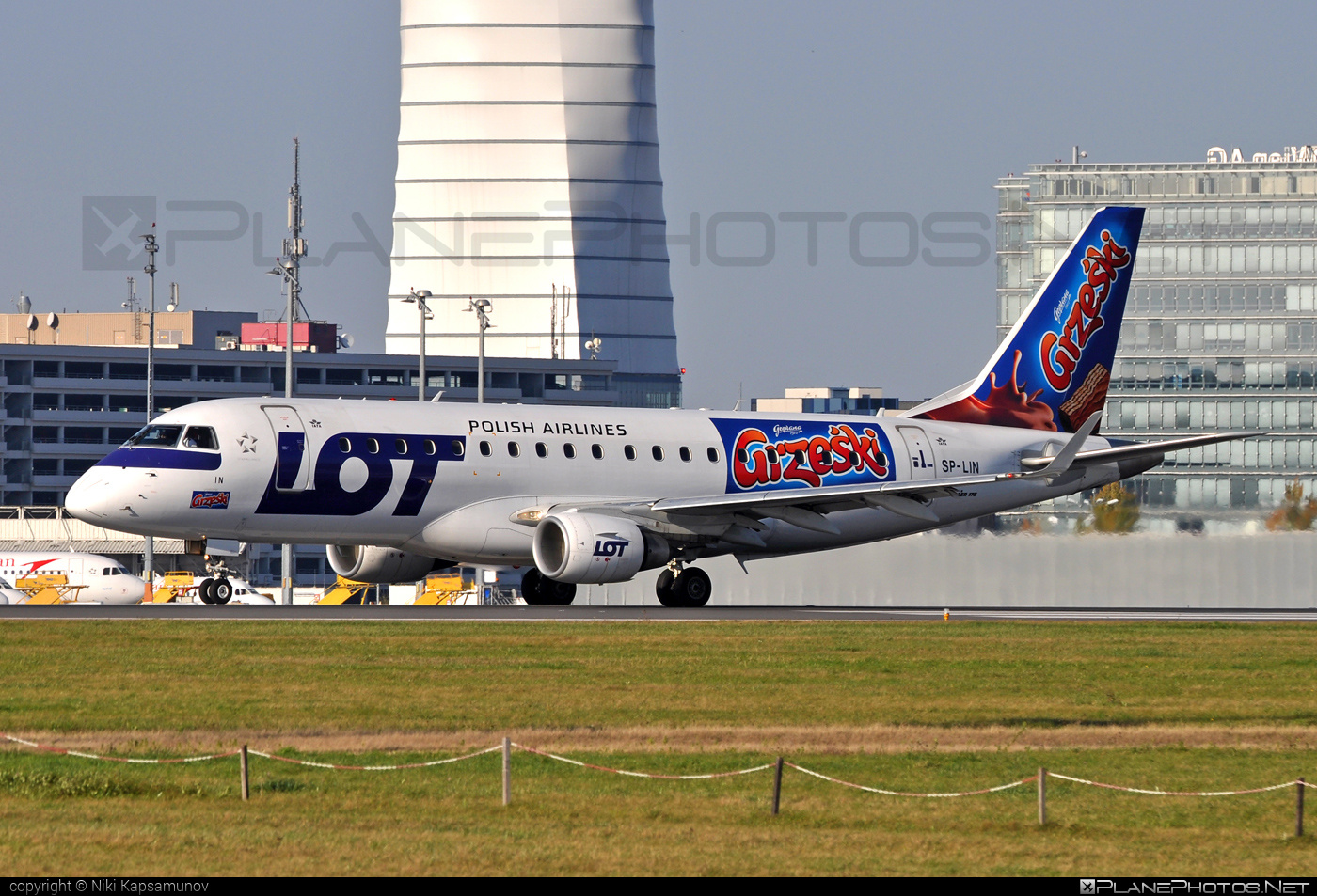 Embraer 170-200LR - SP-LIN operated by LOT Polish Airlines #embraer #lot #lotpolishairlines