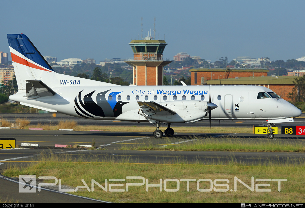 Saab 340B - VH-SBA operated by Regional Express (REX) #saab