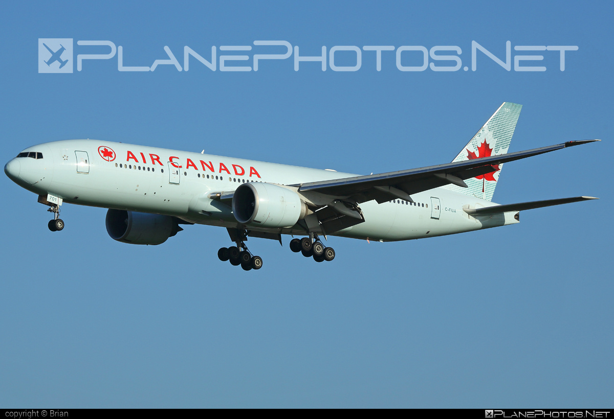 Boeing 777-200LR - C-FIUA operated by Air Canada #aircanada #b777 #b777lr #boeing #boeing777 #tripleseven