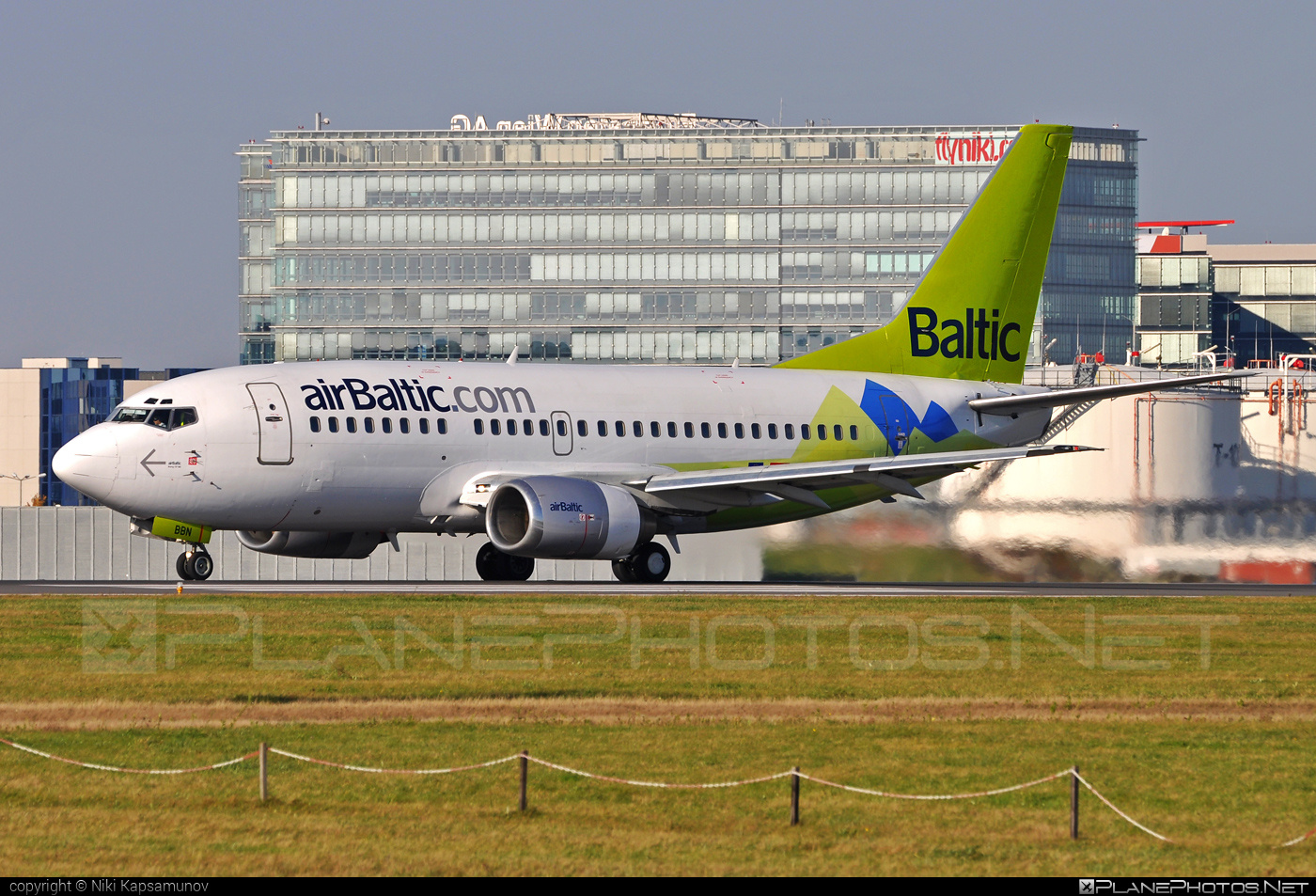 YL-BBN - Boeing 737-500 operated by Air Baltic taken by ...