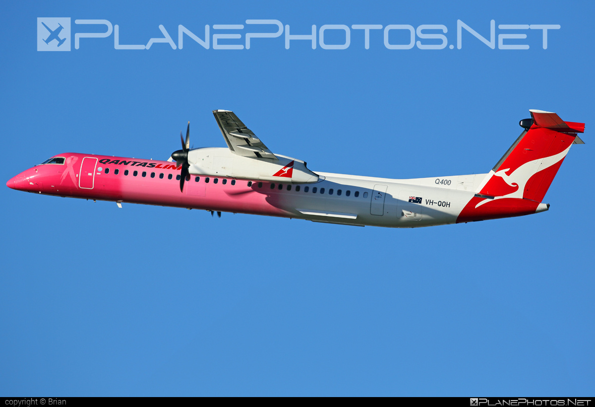 Bombardier DHC-8-Q402 Dash 8 - VH-QOH operated by QantasLink (Sunstate Airlines) #bombardier #qantaslink #sunstateairlines