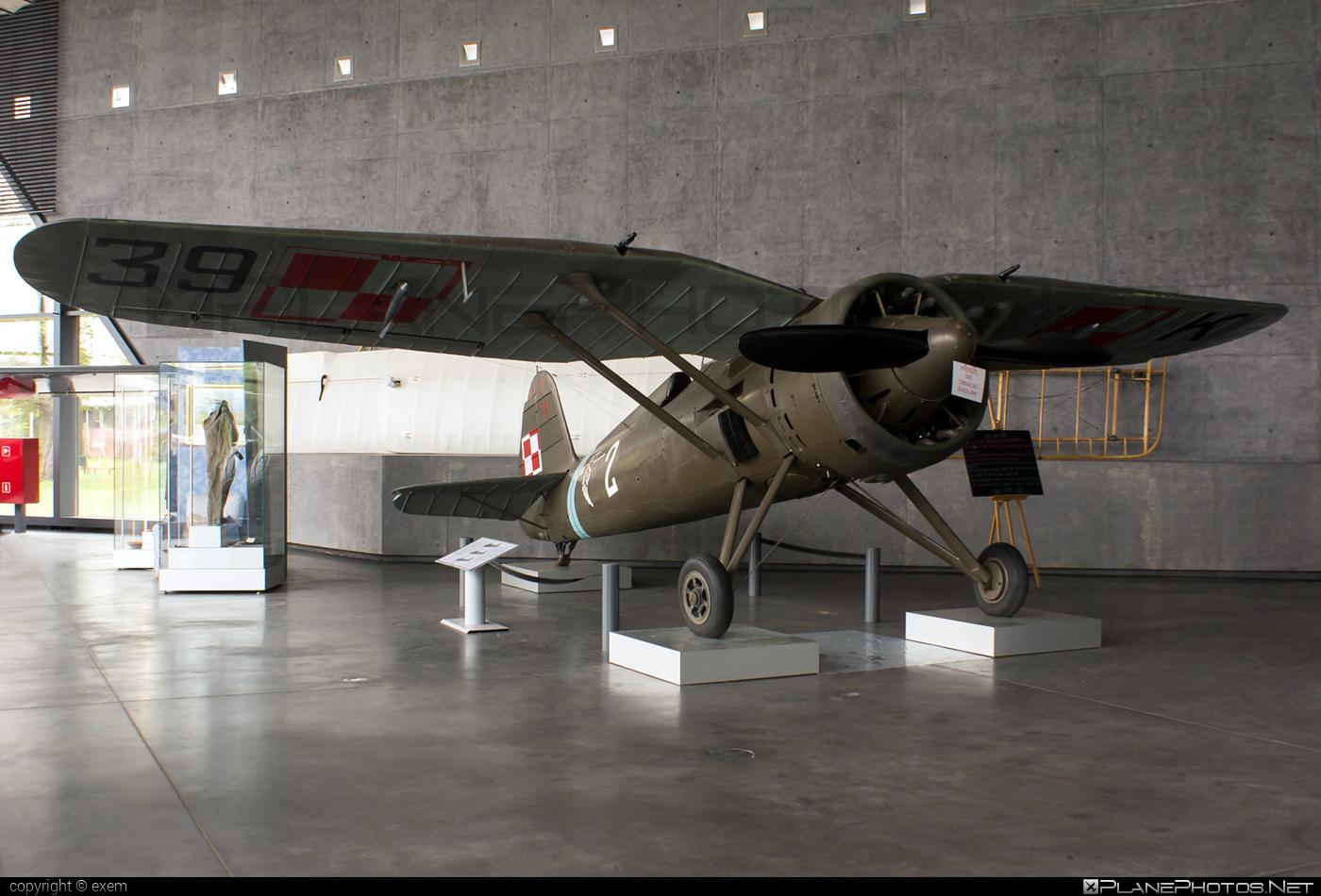 PZL-Okęcie P.11c - 8.63 operated by Siły Powietrzne Rzeczypospolitej Polskiej (Polish Air Force) #polishairforce #pzl #pzlokecie #silypowietrzne