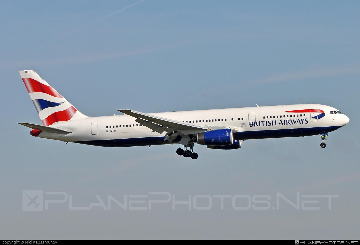 Boeing 767-300ER - G-BZHB operated by British Airways #b767 #b767er #boeing #boeing767 #britishairways