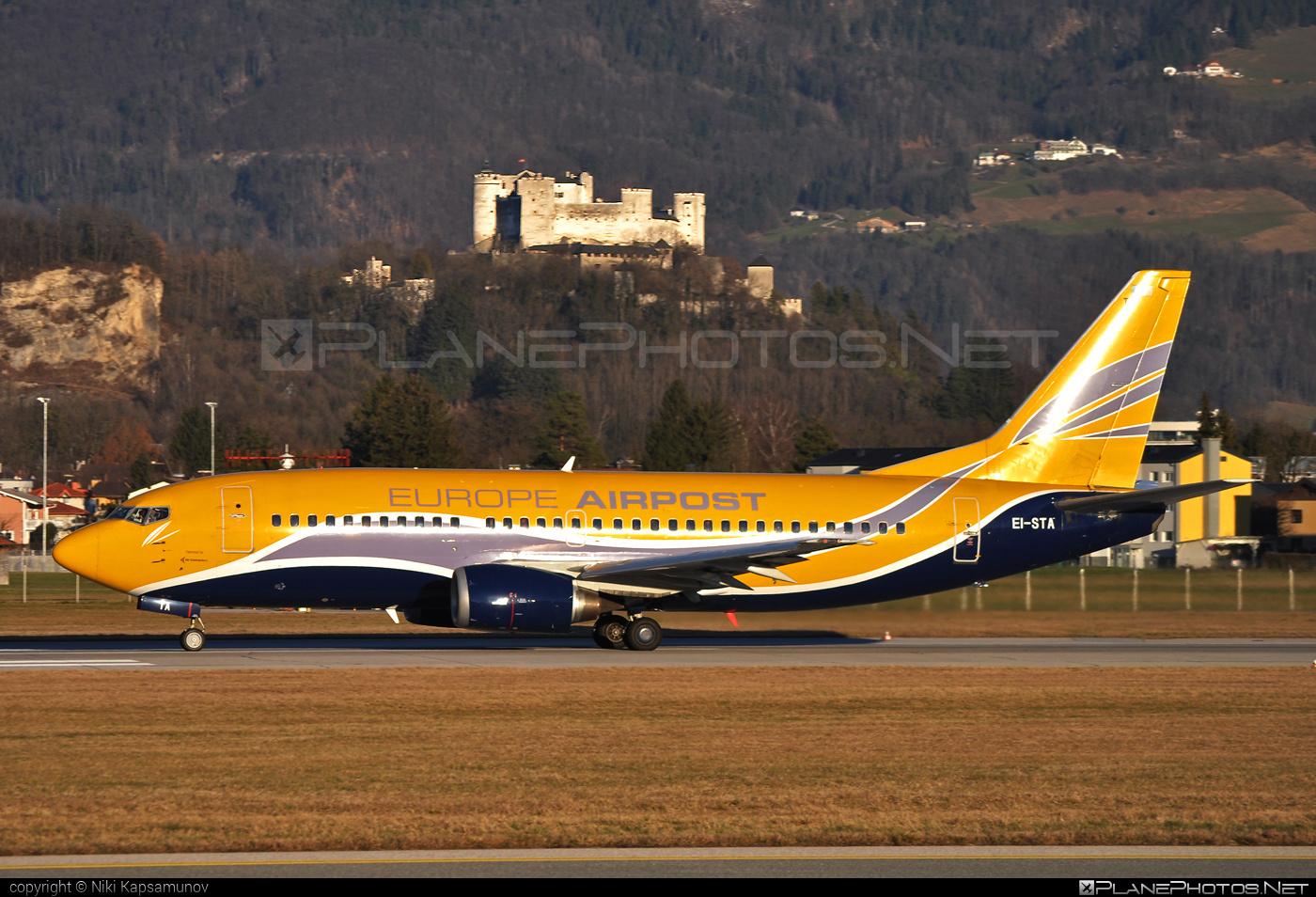 Boeing 737-300 - EI-STA operated by Europe Airpost #b737 #boeing #boeing737