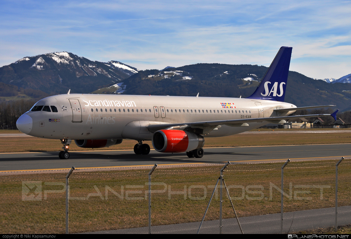 Airbus A320-232 - OY-KAM operated by Scandinavian Airlines (SAS) #a320 #a320family #airbus #airbus320 #sas #sasairlines #scandinavianairlines
