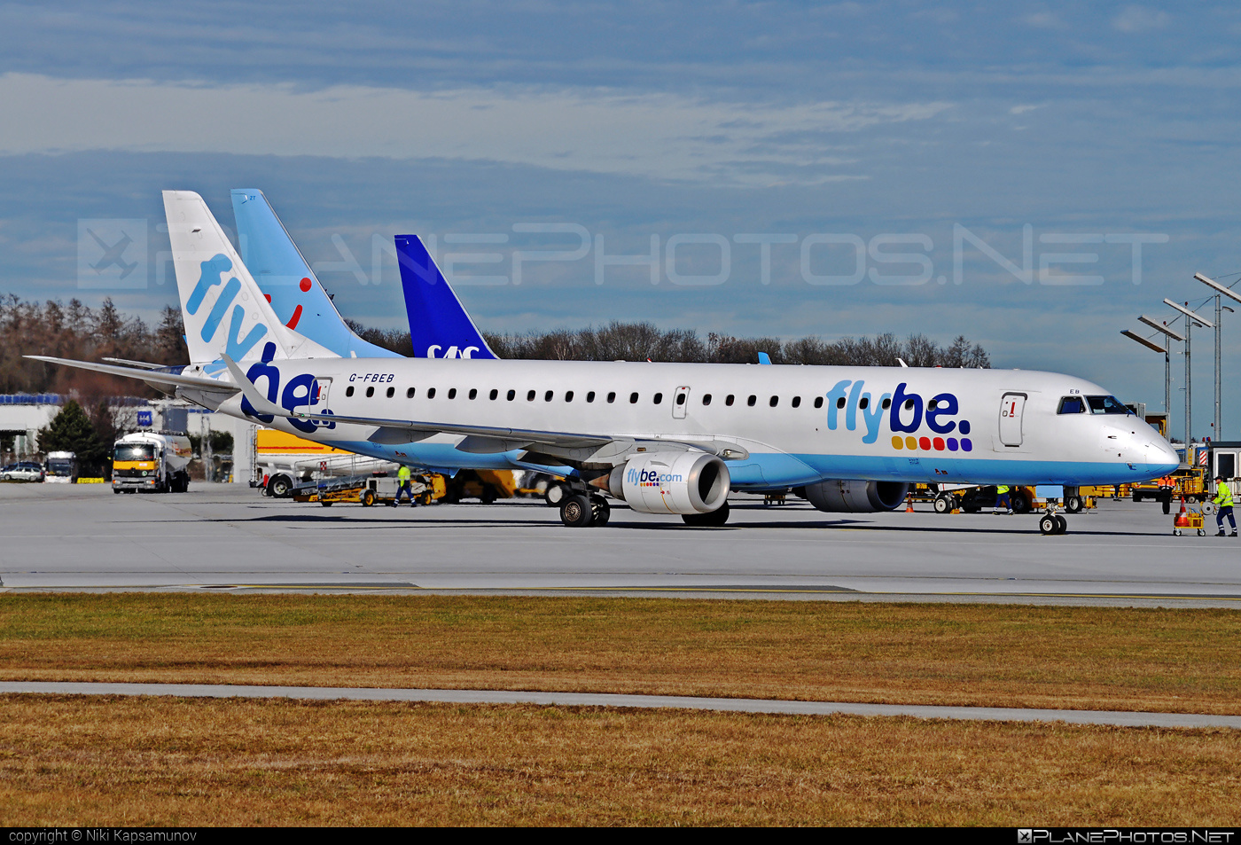 Embraer E195LR (ERJ-190-200LR) - G-FBEB operated by Flybe #e190 #e190200 #e190200lr #e195lr #embraer #embraer190200lr #embraer195 #embraer195lr