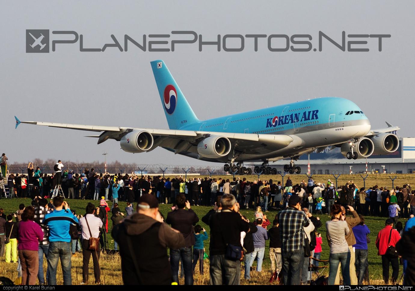 Airbus A380-861 - HL7614 operated by Korean Air #a380 #a380family #airbus #airbus380 #koreanair