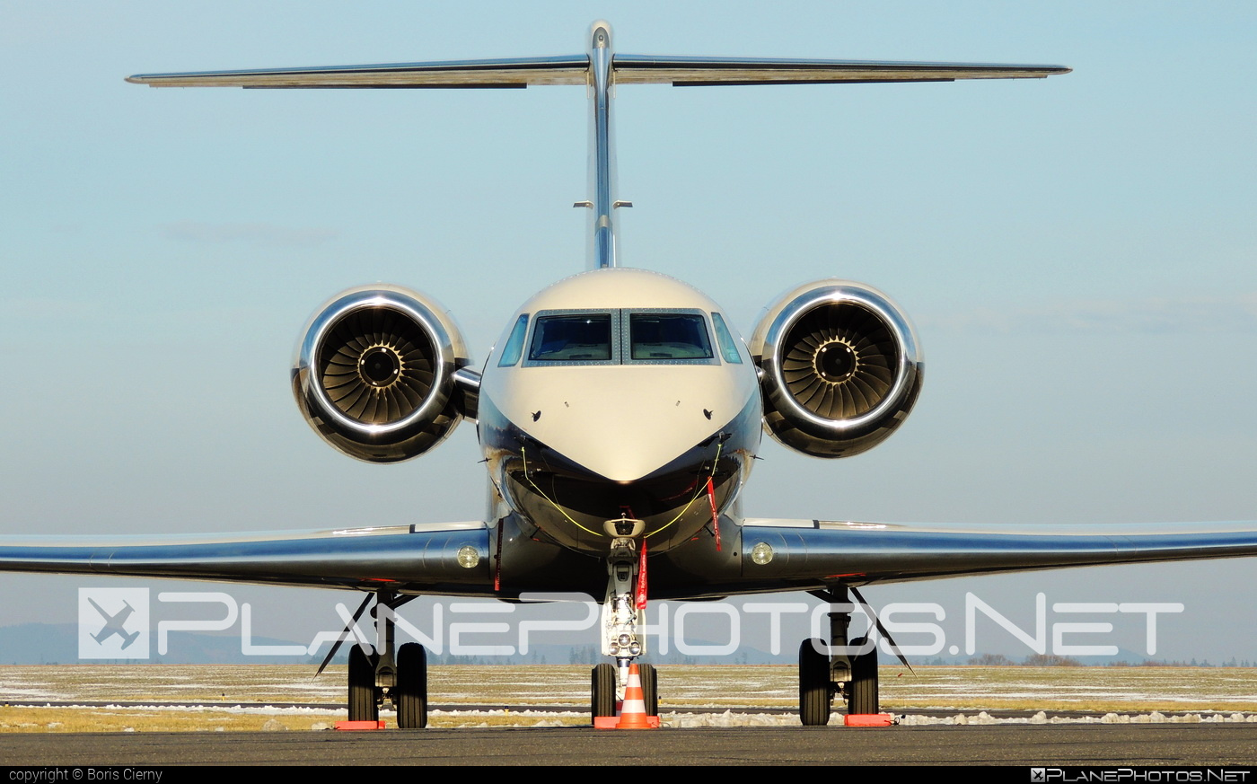 Gulfstream G550 - OK-VPI operated by ABS Jets #g550 #gulfstream #gulfstreamg550