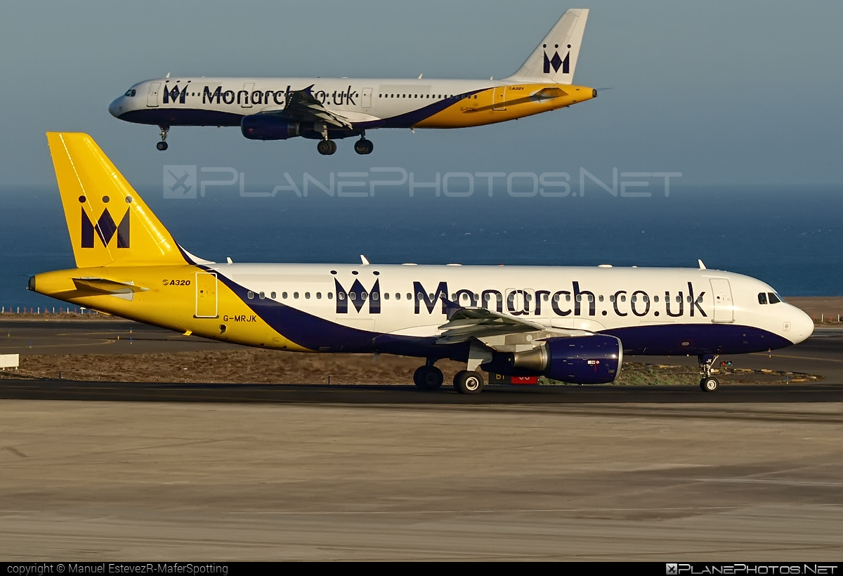 Airbus A320-214 - G-MRJK operated by Monarch Airlines #a320 #a320family #airbus #airbus320