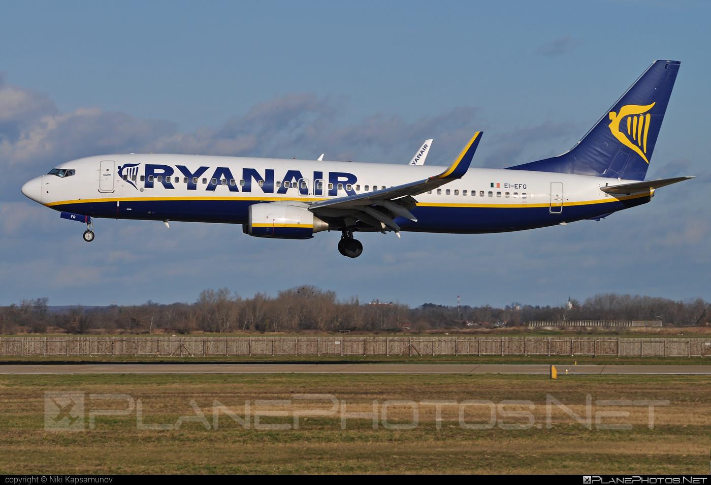 Boeing 737-800 - EI-EFG operated by Ryanair #b737 #b737nextgen #b737ng #boeing #boeing737 #ryanair
