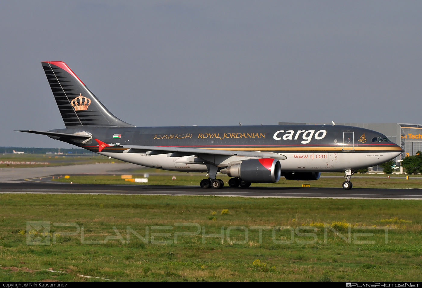 Airbus A310-304F - JY-AGR operated by Royal Jordanian Cargo #a310 #airbus