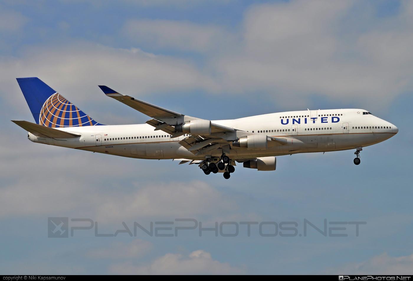 Boeing 747-400 - N116UA operated by United Airlines #b747 #boeing #boeing747 #jumbo #unitedairlines