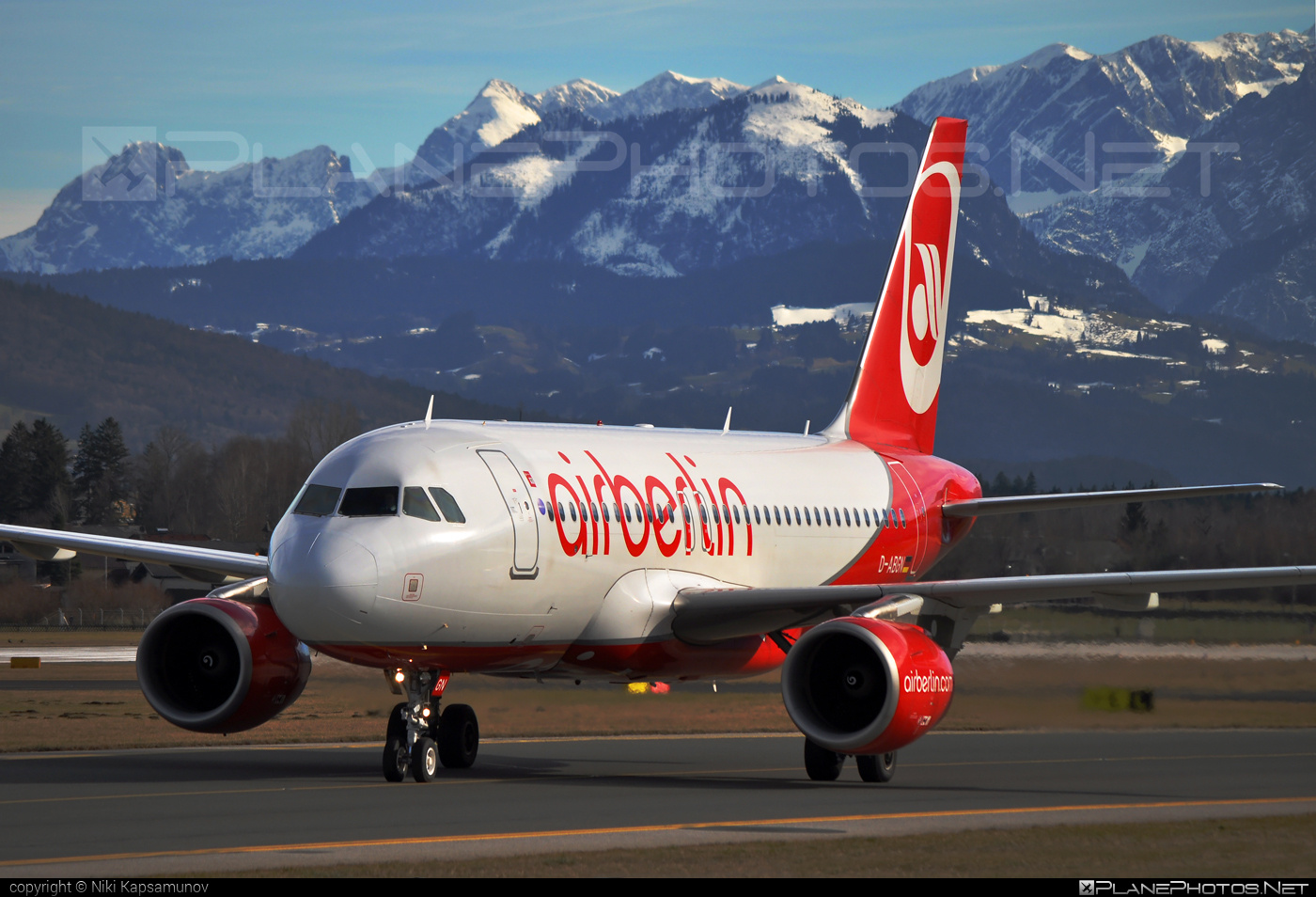 Airbus A319-112 - D-ABGN operated by Air Berlin #a319 #a320family #airberlin #airbus #airbus319