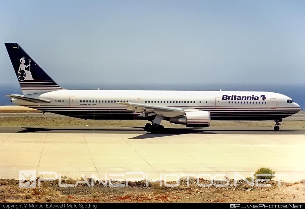 Boeing 767-300ER - G-OBYA operated by Britannia Airways #b767 #b767er #boeing #boeing767
