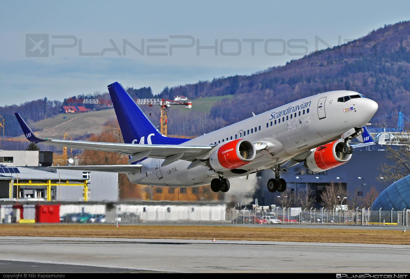 Boeing 737-700 - LN-TUL operated by Scandinavian Airlines (SAS) #b737 #b737nextgen #b737ng #boeing #boeing737 #sas #sasairlines #scandinavianairlines