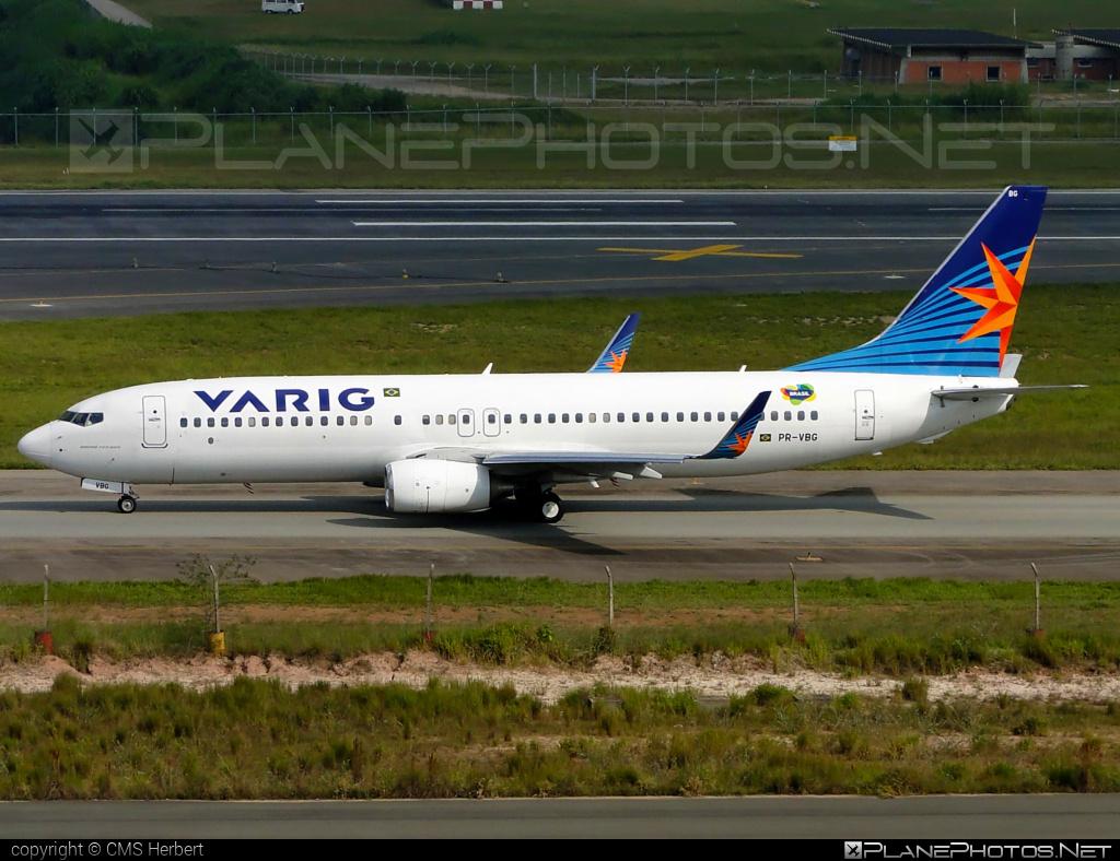 Boeing 737-800 - PR-VBG operated by Varig #b737 #b737nextgen #b737ng #boeing #boeing737